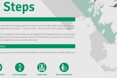 CONIAC Produces Safety Steps Guide For Working At Height
