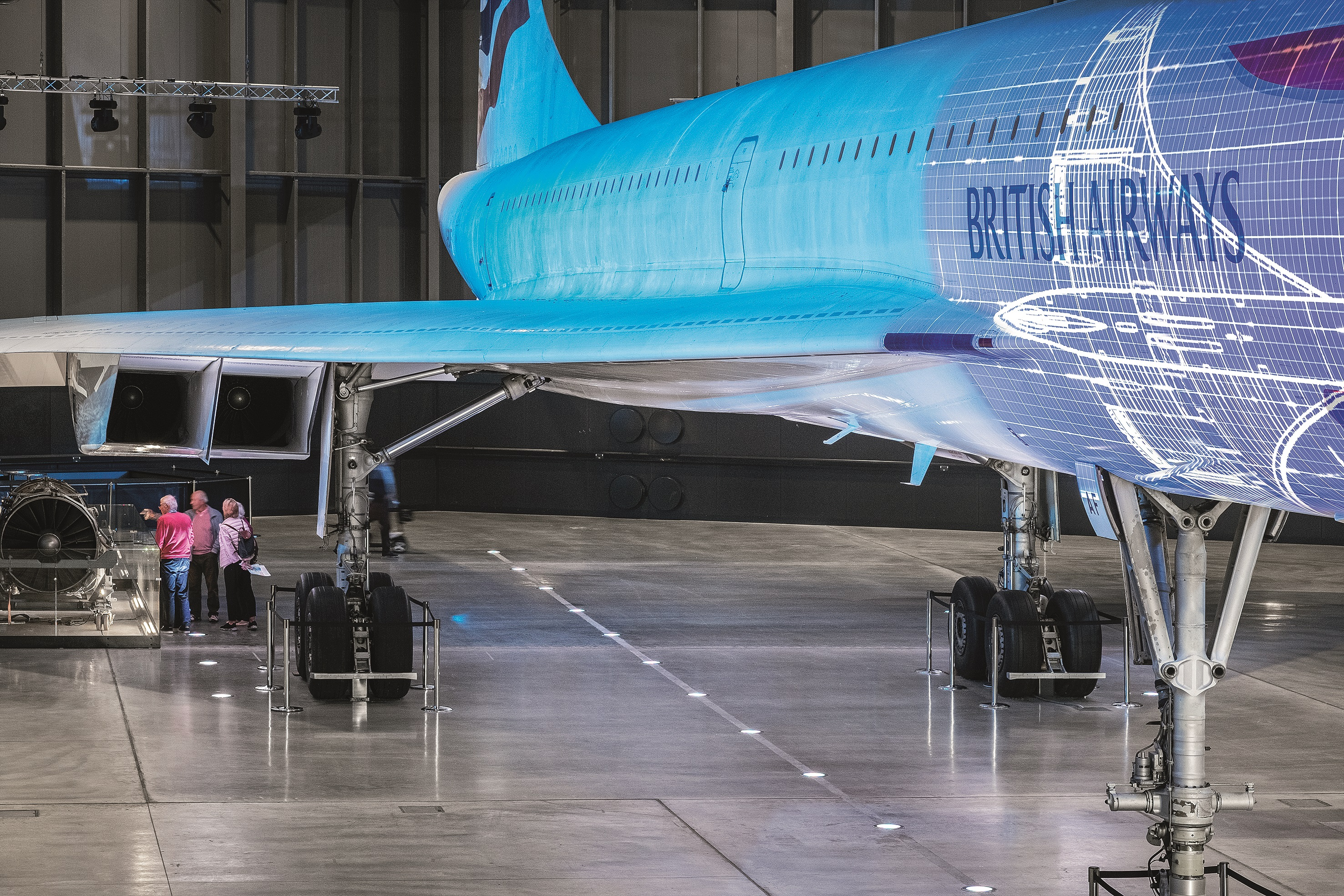 Zumtobel Luminaires Installed At Aerospace Bristol Museum