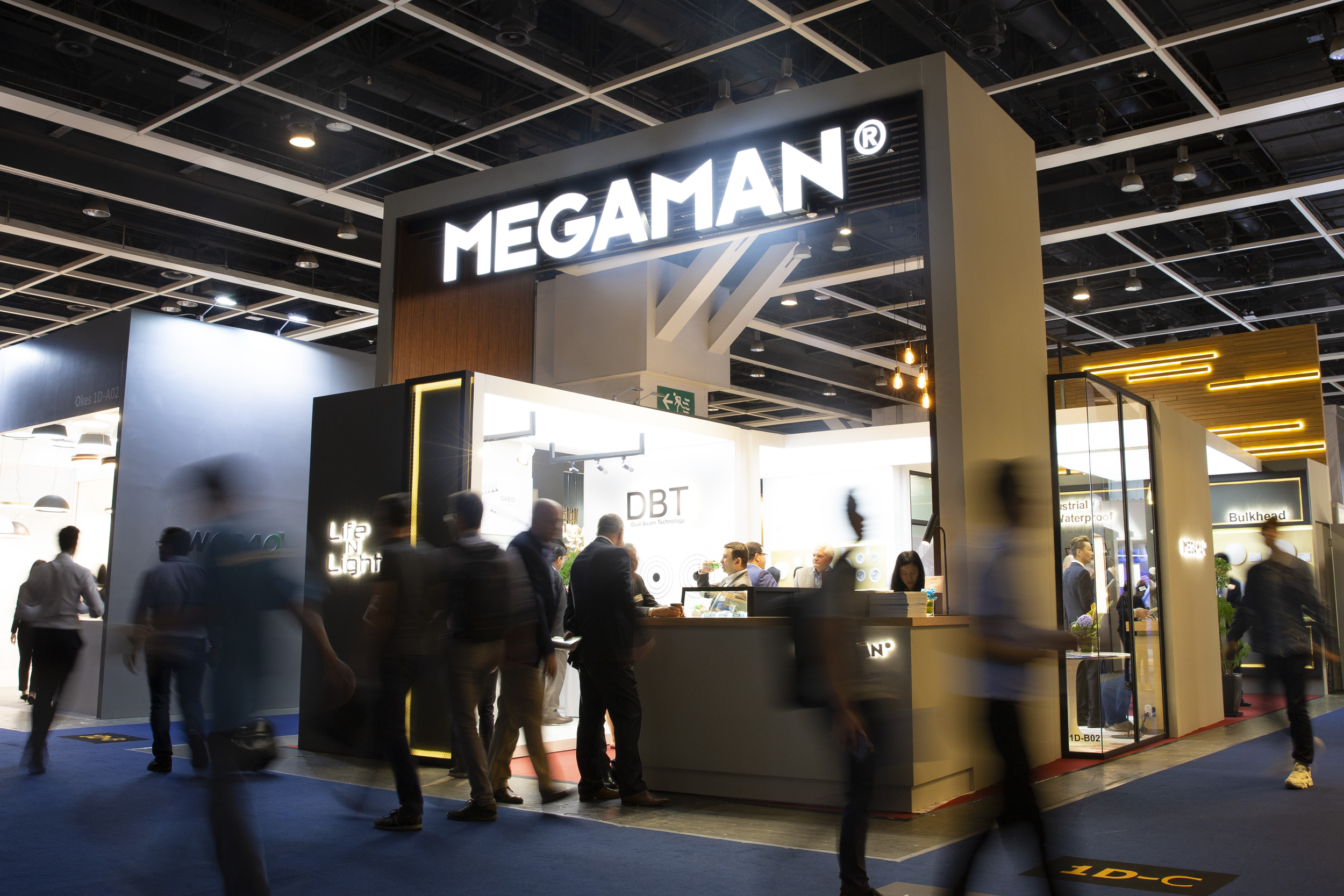 MegaMan LED Products Take Centre Stage In Hong Kong