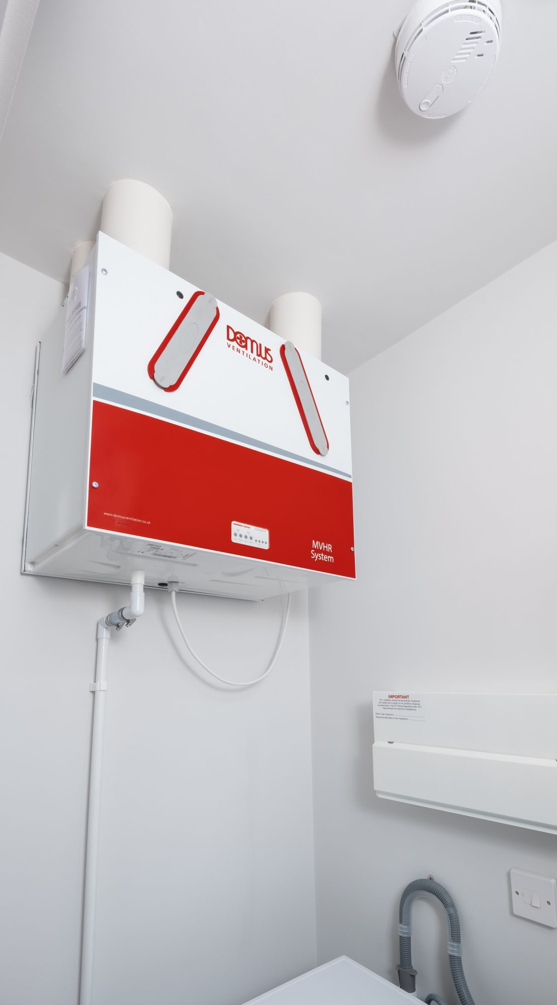 Domus Ventilation MVHR System Choice For Affordable Homes In London