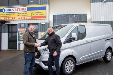 Wolverhampton Electrician Wins Toolstation Van