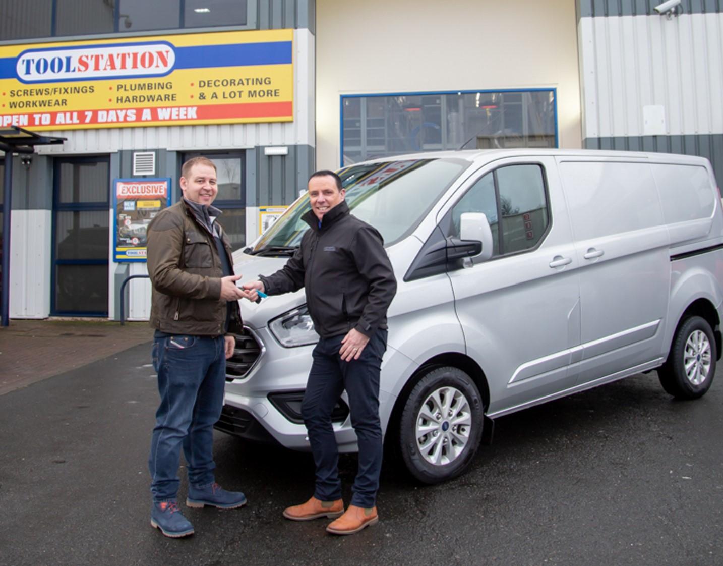 Wolverhampton Electrician Wins Toolstation Van