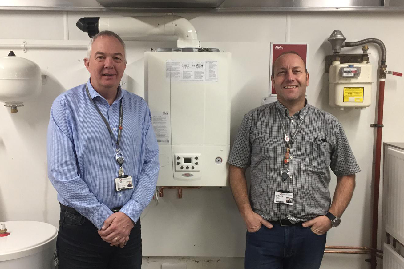 Walsall College Gets Alpha Heating