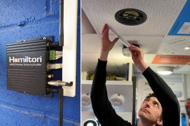 Hamilton Training Goes Wireless