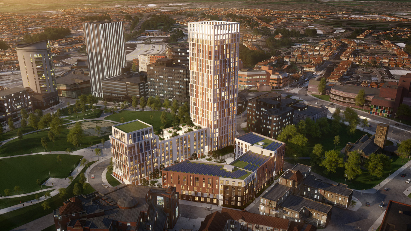 J S Wright Awarded £11M Castle Park View Contract