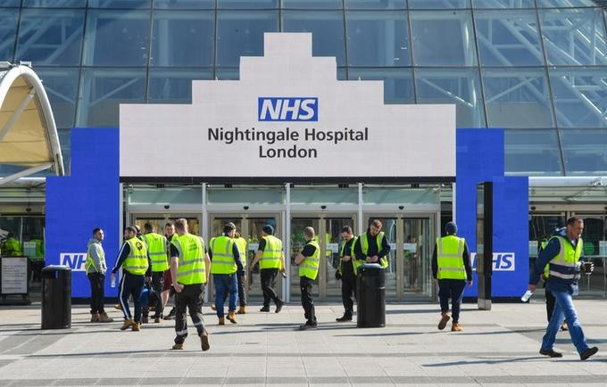 ECA Members Support NHS Nightingale Hospitals