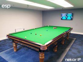 ESP Gives Pro Snooker Player Big Break