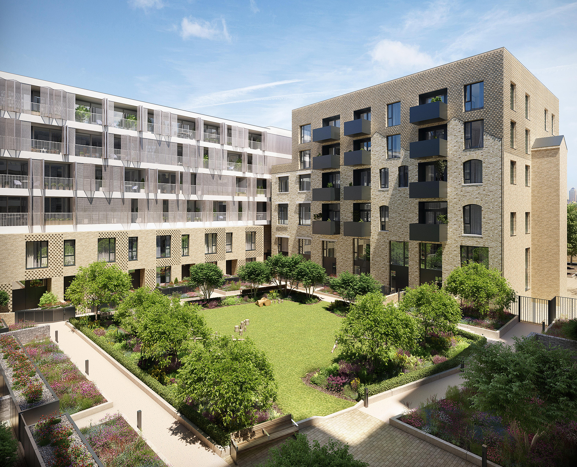 J S Wright Secures £8M-Plus London Square Contract