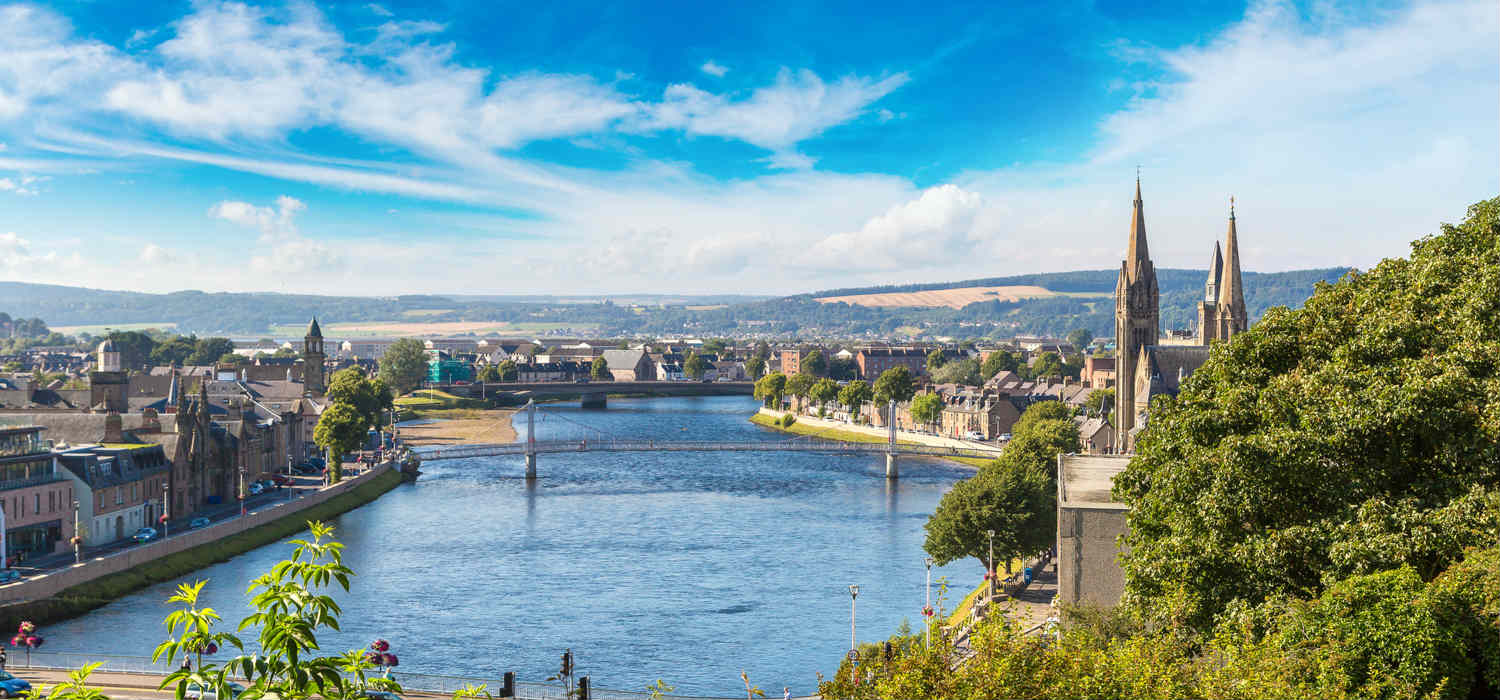 Inverness, Scotland, will benefit from the contract