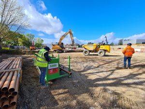 Construction up £334m