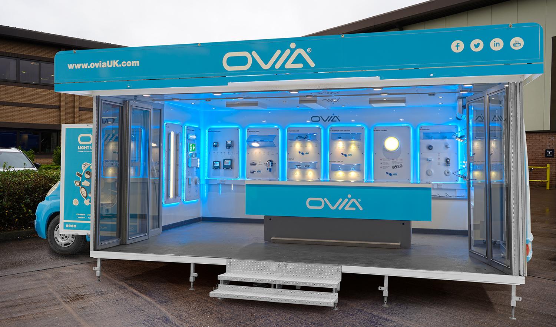 Mobile lighting showroom